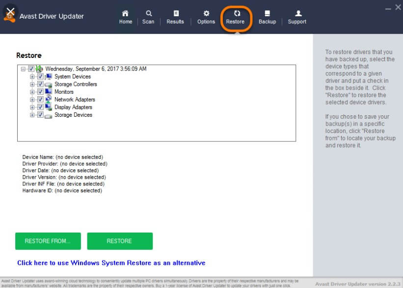 Avast Driver Updater License Key 2020