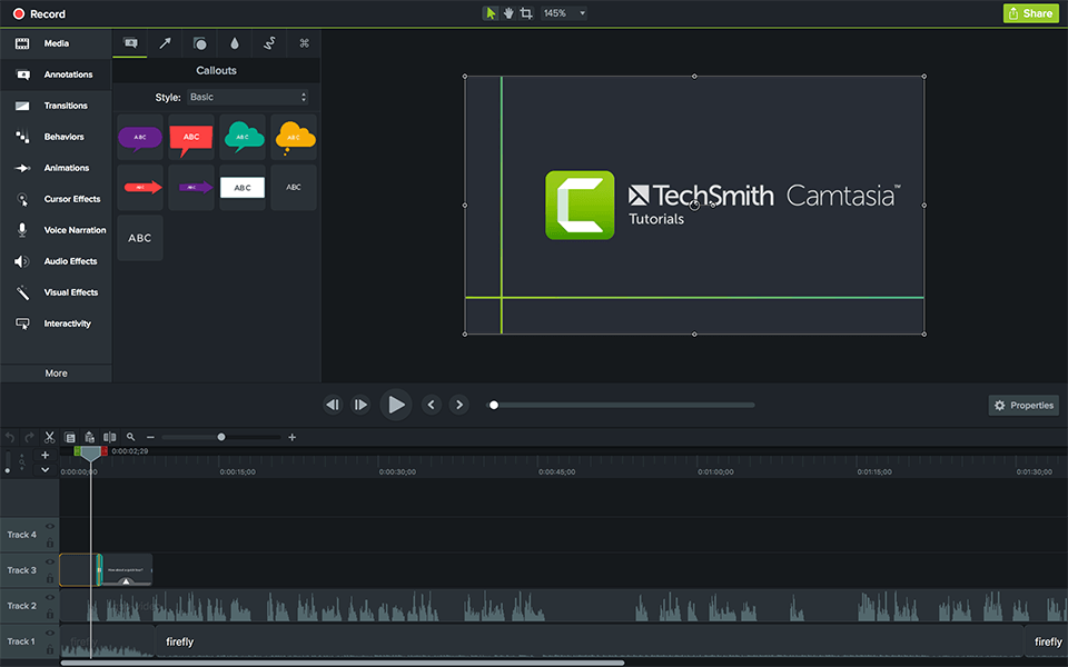 Camtasia Studio 2019.0.9 Crack + Serial Key Free Download