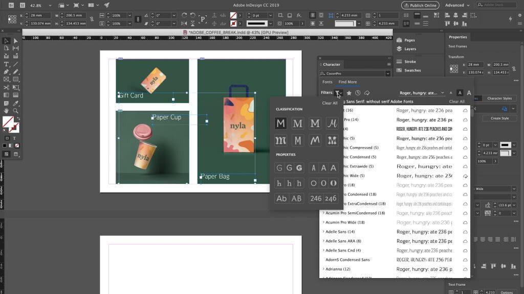 Adobe InDesign CC 2020 for Windows