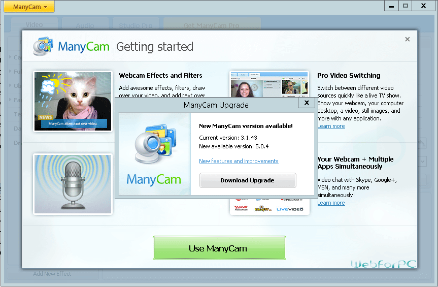 ManyCam Pro Crack Download