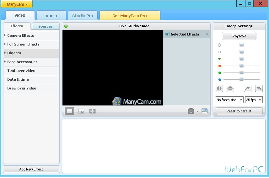 Manycam Pro 7.7.0 Crack + License Key 2020 {Win+MAC}