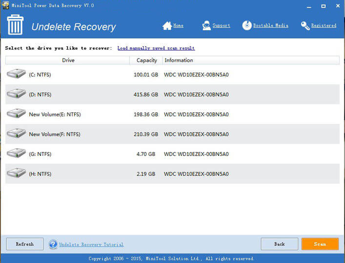 MiniTool Power Data Recovery 9.1 Crack With License Key 2020 Free