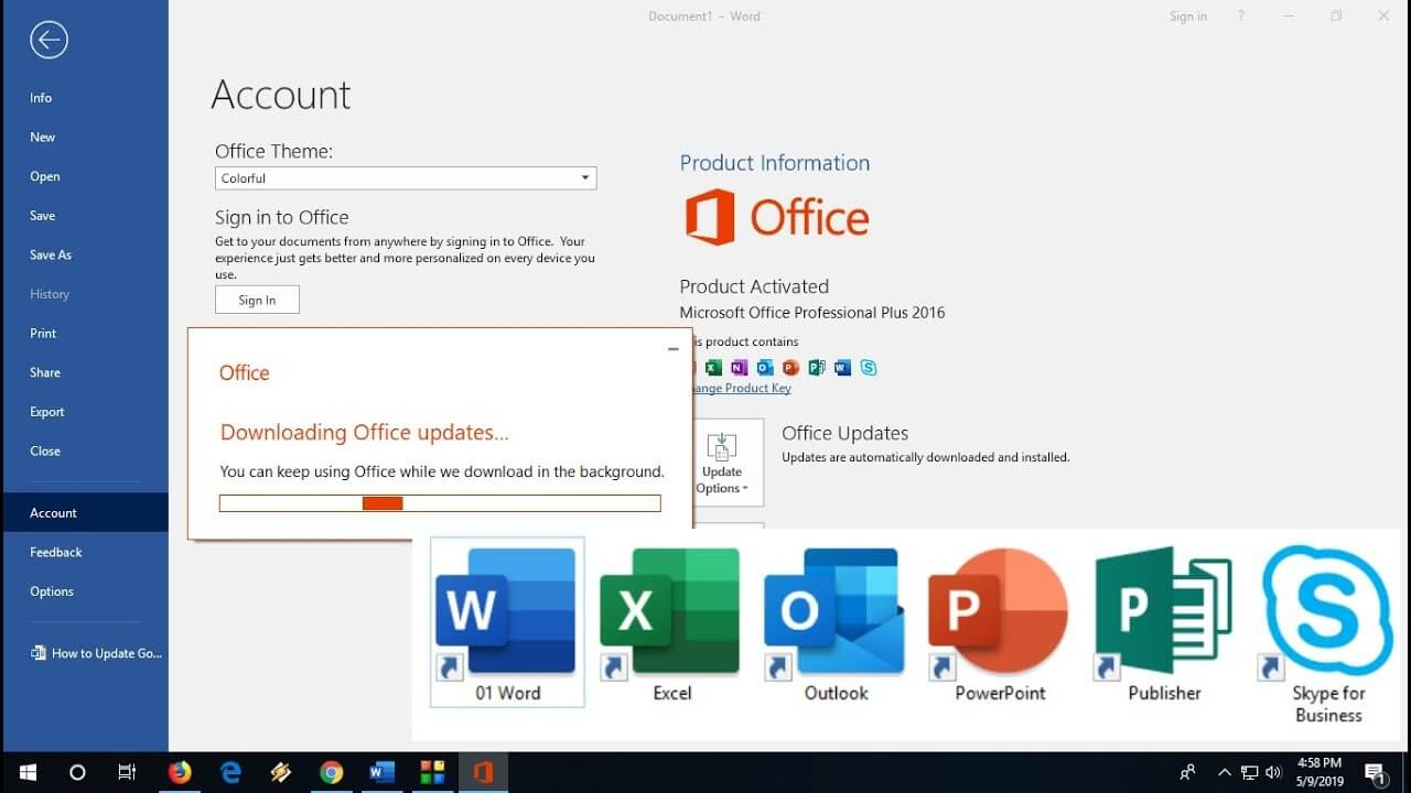 Microsoft Office 2016 Crack Free Download Full Version - [Updated 2021]