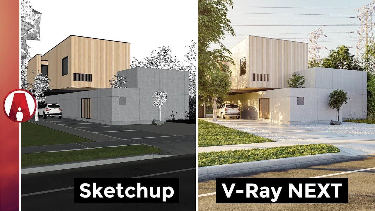 V-Ray 4 Crack For SketchUp 2020 Full License Key